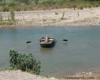 Boquillas River Crossing Ferry