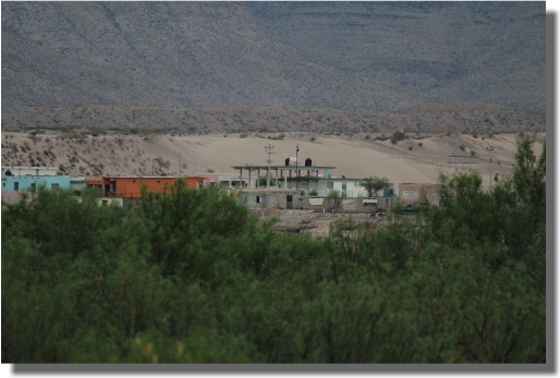Boquillas Del Carmen Border Crossing