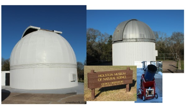 Brazos Bend George Observatory Telescopes