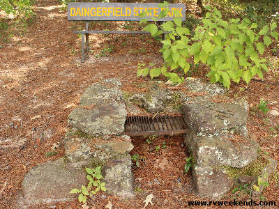 Daingerfield State Park - CCC Fire Pit