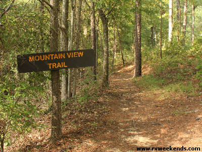 Daingerfield State Park - Mountain View Trail