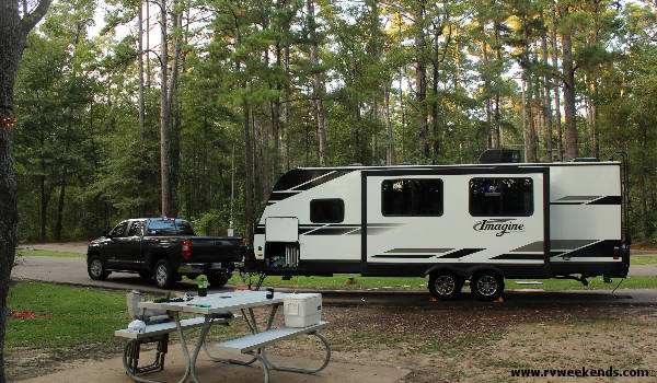 Daingerfield State Park - Campsite #7
