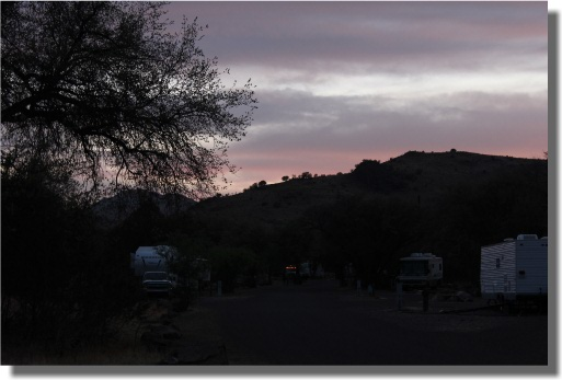Sundown at Davis Mountains State Park