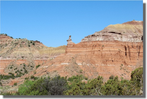 Palo Duro State Park - Capital Peak