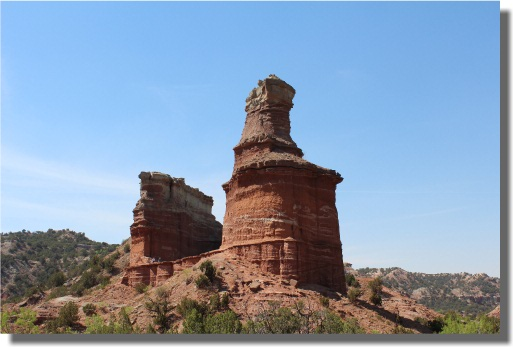 Lighthouse Formation - Palo Duro Canyon