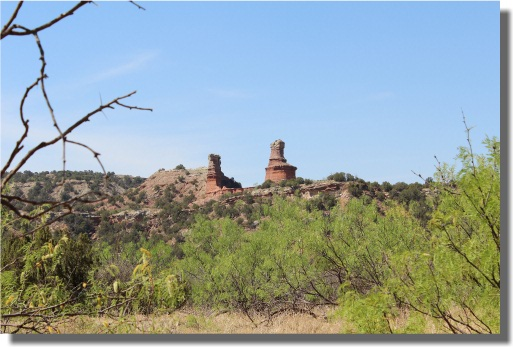 Lighthouse Formation - Palo Duro State Park
