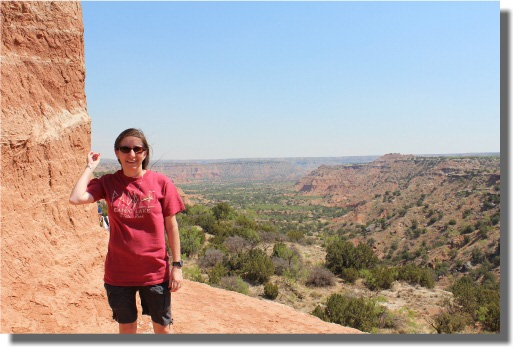Lighthouse Formation - View of Palo Duro Canyon