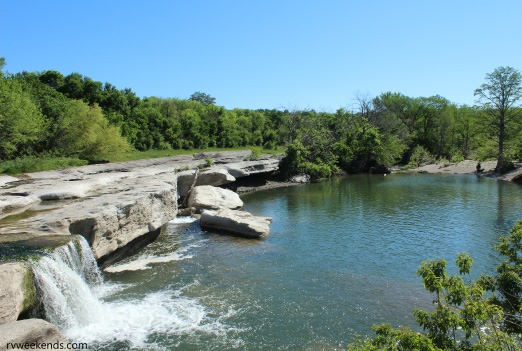 McKinney Falls Lower Falls