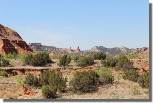 Palo Duro Canyon - Lighthouse Formation