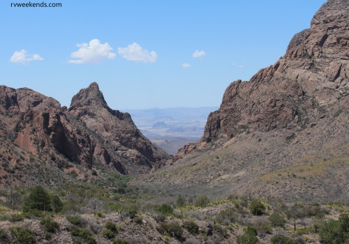 The Window View at Chisos Mountains, Big Bend, Texas